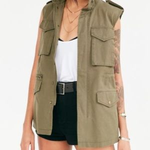 Urban Outfitters BDG Waisted Cargo Vest